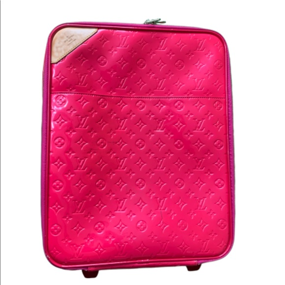 Handbags - Louis Vuitton Vernis Pegase 45 Suitcase Luggage
